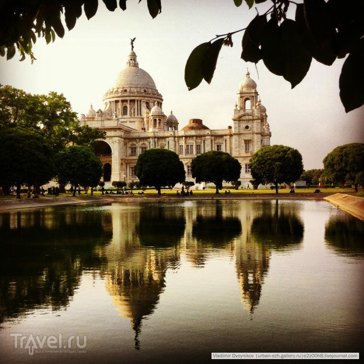 Парк Victoria Memorial / Индия