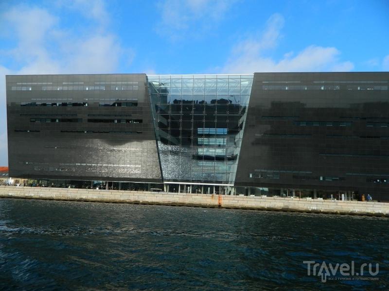 Новое здание Национальной библиотеки Дании в Копенгагене / Фото из Дании