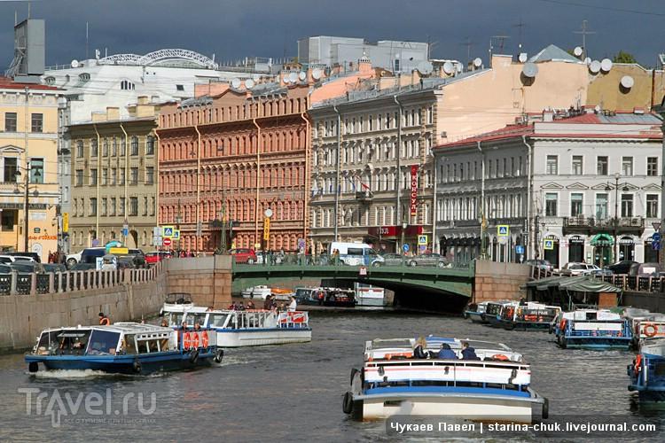 Река Мойка в Санкт-Петербурге, Россия / Фото из России
