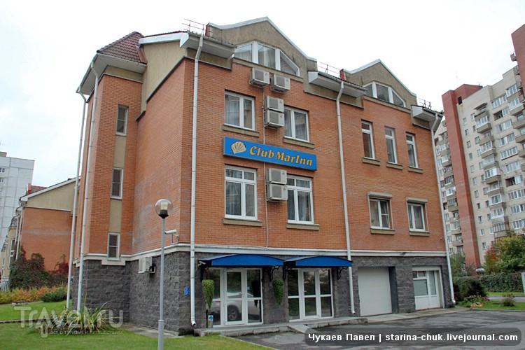 Отель Club Marinn в Санкт-Петербурге, Россия / Фото из России