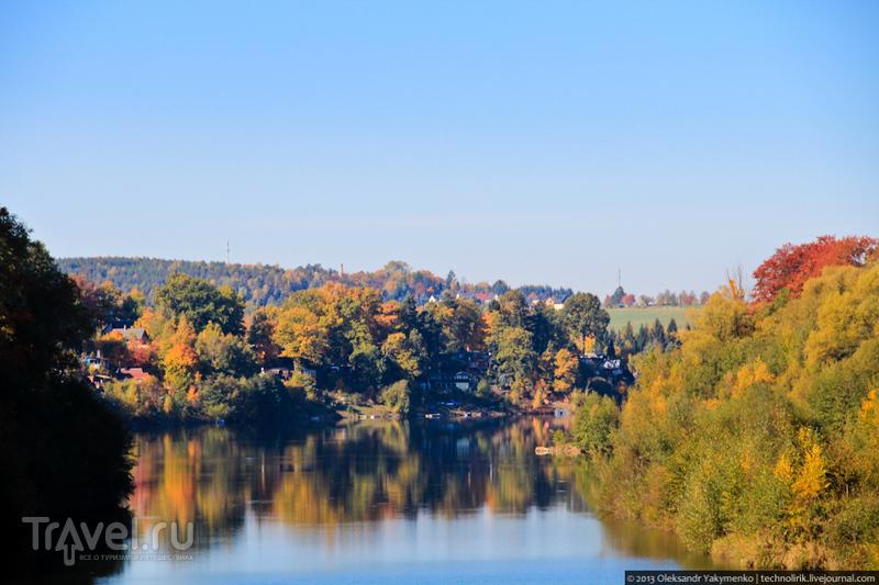 Weißeritztalbahn - самая живописная узкоколейка Саксонии