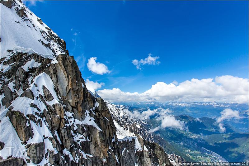 Как за один день посетить десяток альпийских вершин. Подъемники Шамони