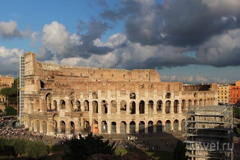 Традиционный вид. Одно из семи рукотворных чудес света – Колизей / Ватикан