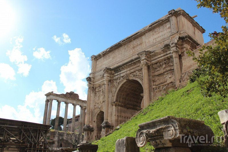 Форум. Арка Септимия Севера, предваряющая упадок римского искусства / Ватикан