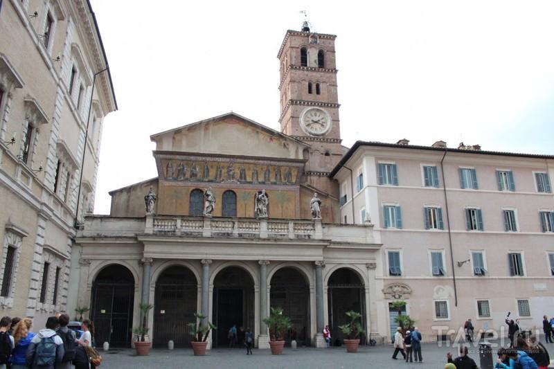 Базилика Пресвятой Девы Марии была заложена в 221 году / Ватикан