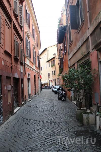 Узкие и уютные улочки... / Ватикан