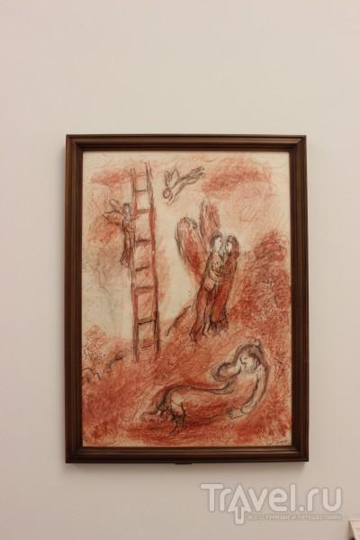 """Христос и художник"" Шагала / Ватикан"