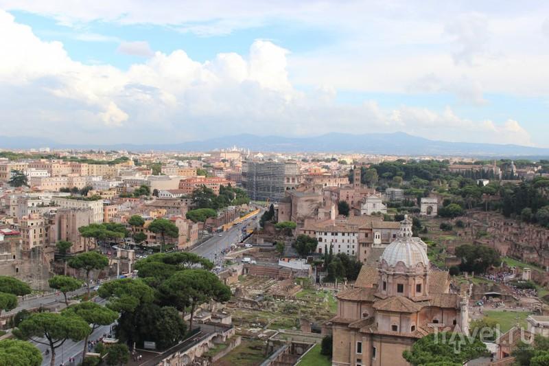 Вид с крыши Венецианского дворца / Ватикан