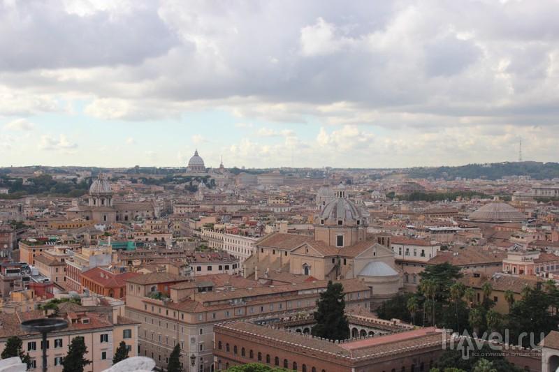 Панорама города / Ватикан