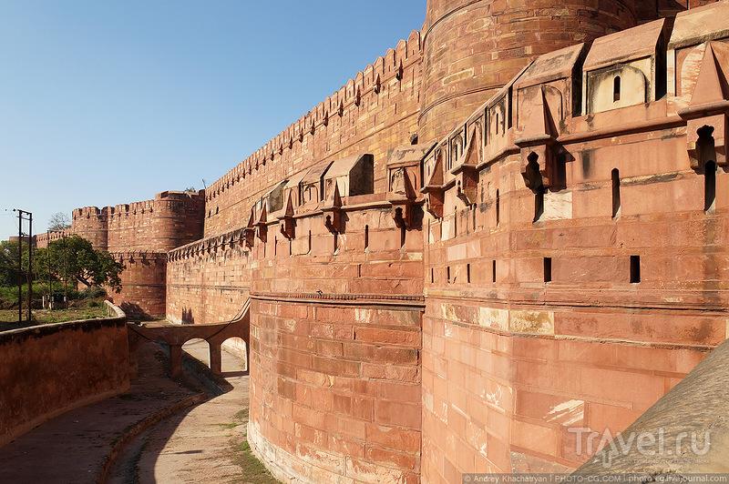 Красный форт в Агре / Фото из Индии