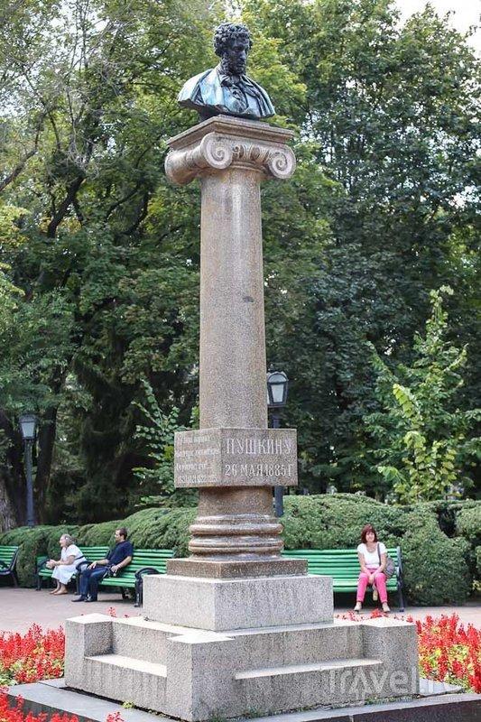 Памятник Пушкину в Кишиневе, Молдавия / Фото из Молдавии