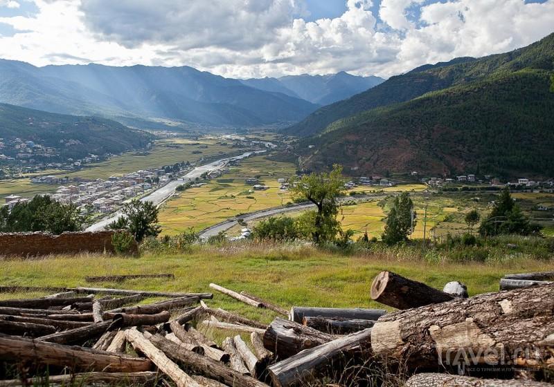 В долине Паро, Бутан / Фото из Бутана