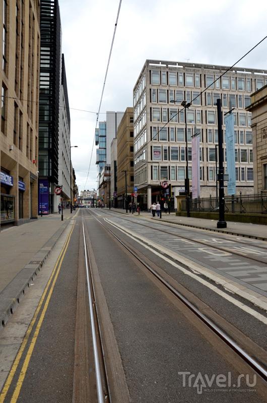 Центр Манчестера, Великобритания / Фото из Великобритании