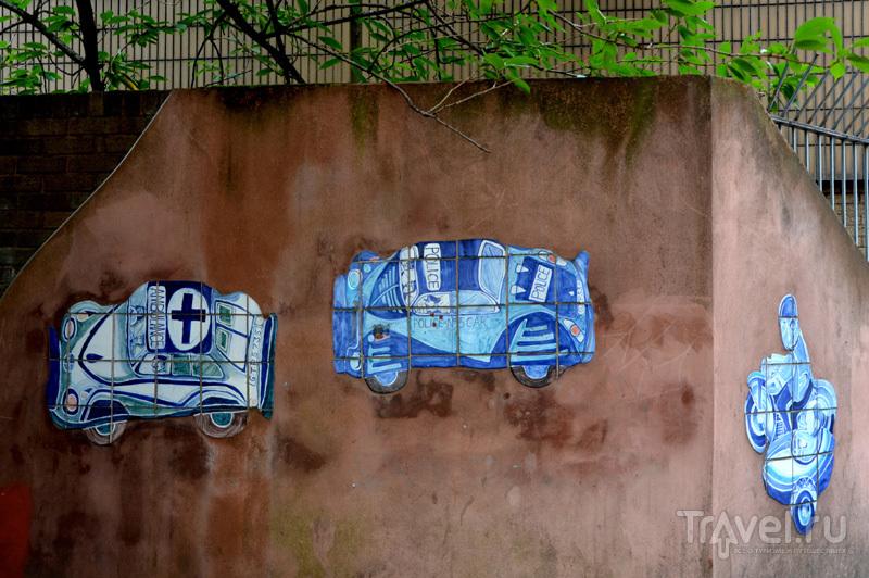Рисунки на стенах в районе Nothern Quarter в Манчестере, Великобритания / Фото из Великобритании