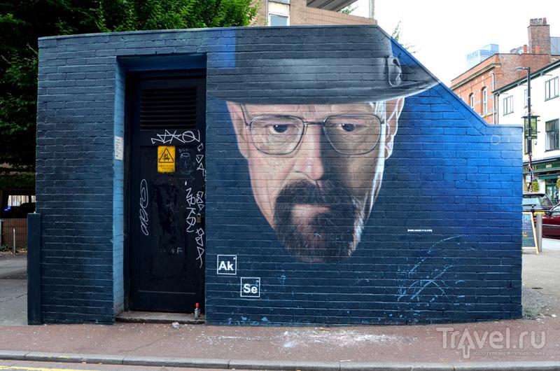 В квартале Nothern Quarter, Манчестер, Великобритания / Фото из Великобритании