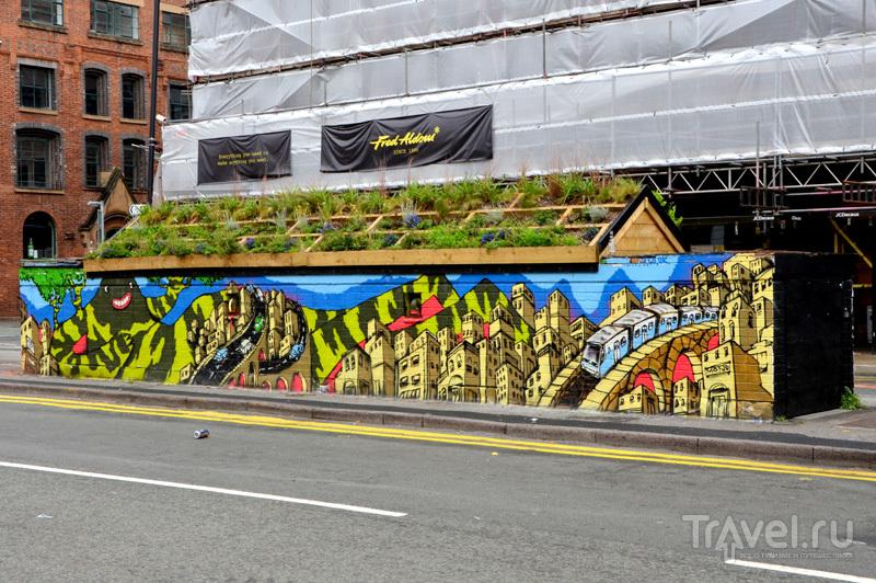 В Nothern Quarter за каждым углом - любопытные пространства и граффити, Великобритания / Фото из Великобритании