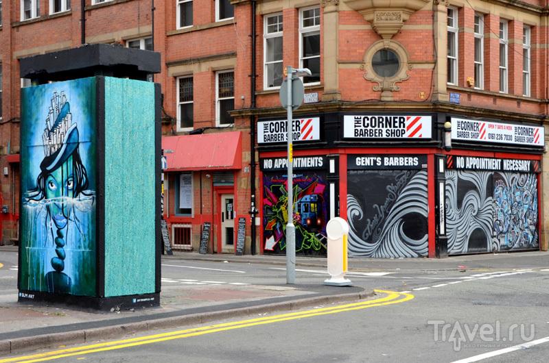 Район Nothern Quarter в Манчестере, Великобритания / Фото из Великобритании