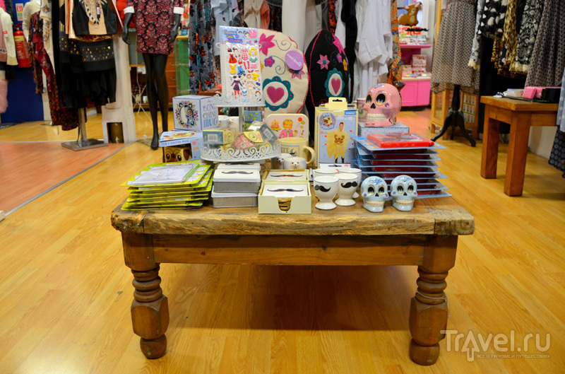 Отличный шоппинг в Afflecks в Манчестере, Великобритания / Фото из Великобритании