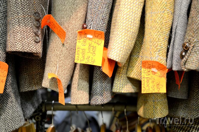 Твидовые пиджаки в Afflecks в Манчестере, Великобритания / Фото из Великобритании