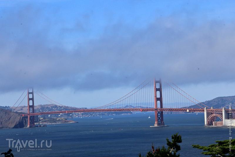 """Мост """"Золотые ворота"""" в Сан-Франциско, США / Фото из США"""
