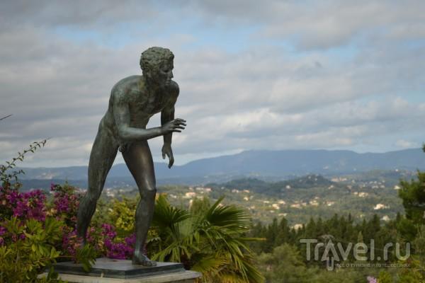 Дворец Ахиллеон на Корфу - любимое место Елизаветы Австрийской / Греция