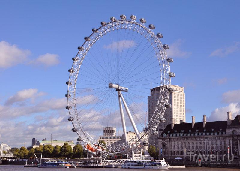 """Колесо обозрения """"Лондонский глаз"""" (London Eye) в Лондоне, Великобритания / Фото из Великобритании"""