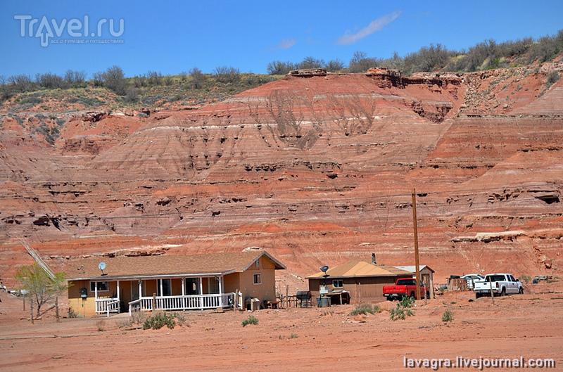 Нация Навахо - богатство бесплодных земель / США