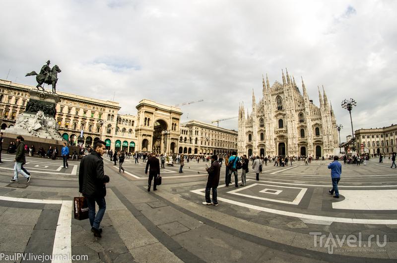 Октябрьская поездка по Европе. Милан / Италия