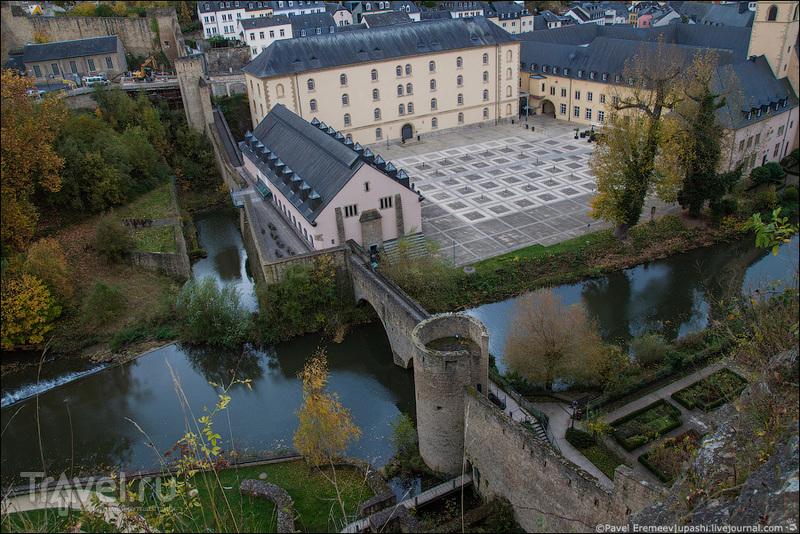 Люксембург. Городские зарисовки. Старый город / Фото из Люксембурга