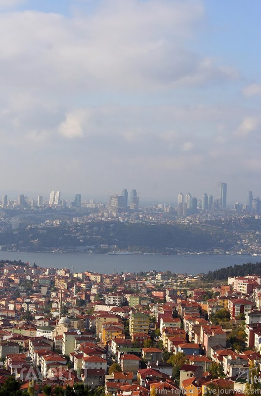 Чамлиджа (Çamlıca) - вершина Стамбула / Фото из Турции