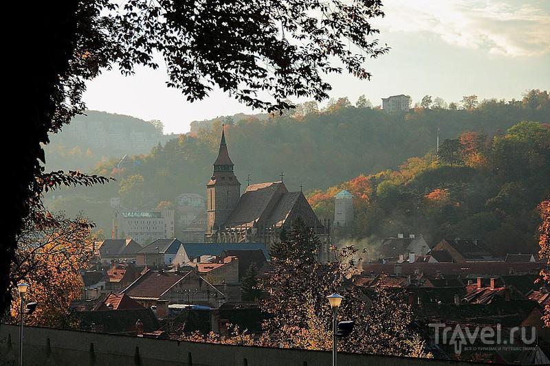 Черная церковь в Брашове, Румыния / Фото из Румынии