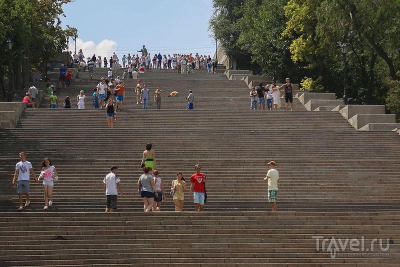 Потёмкинская лестница в Одессе, Украина / Фото с Украины