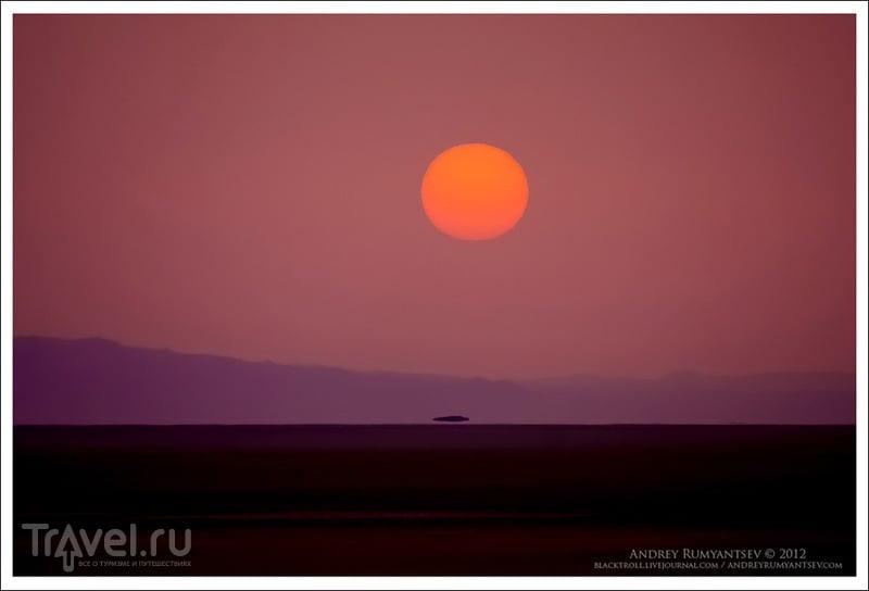 Солончак Шотт-эль-Джерид (Chott el-Djerid) / Фото из Туниса