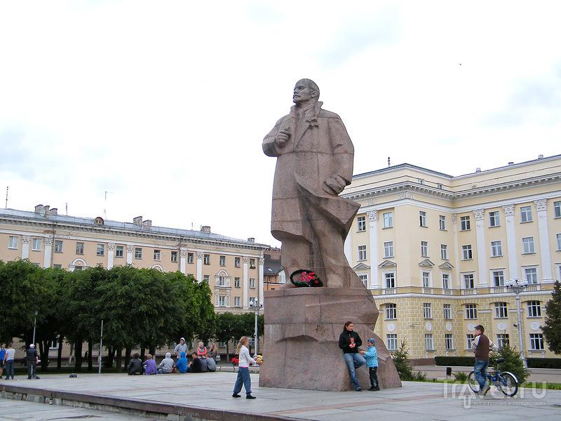 Памятник Ленину в Смоленске, Россия / Фото из России