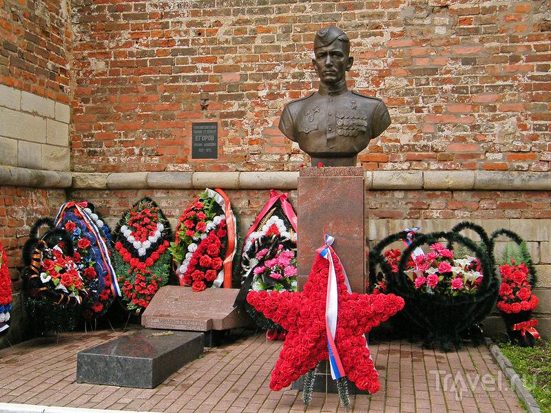 Могила сержанта Михаила Егорова в Смоленске, Россия / Фото из России