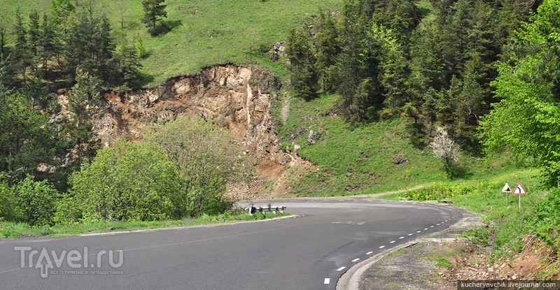 Дорога из Севана в Дилижан / Армения