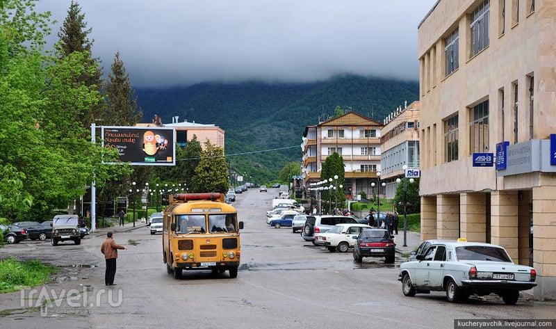 Центральная площадь Дилижана / Армения