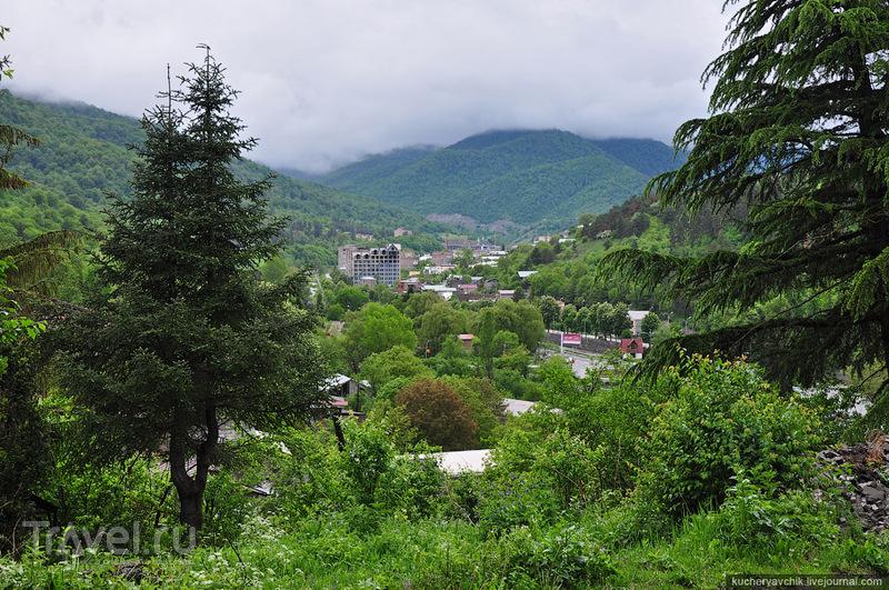 Город со всех сторон окружает Дилижанский заповедник / Армения