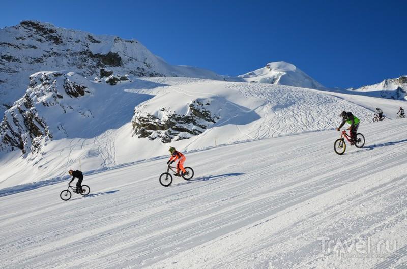 Саас-Фе: крутые покатушки в любое время года / Швейцария