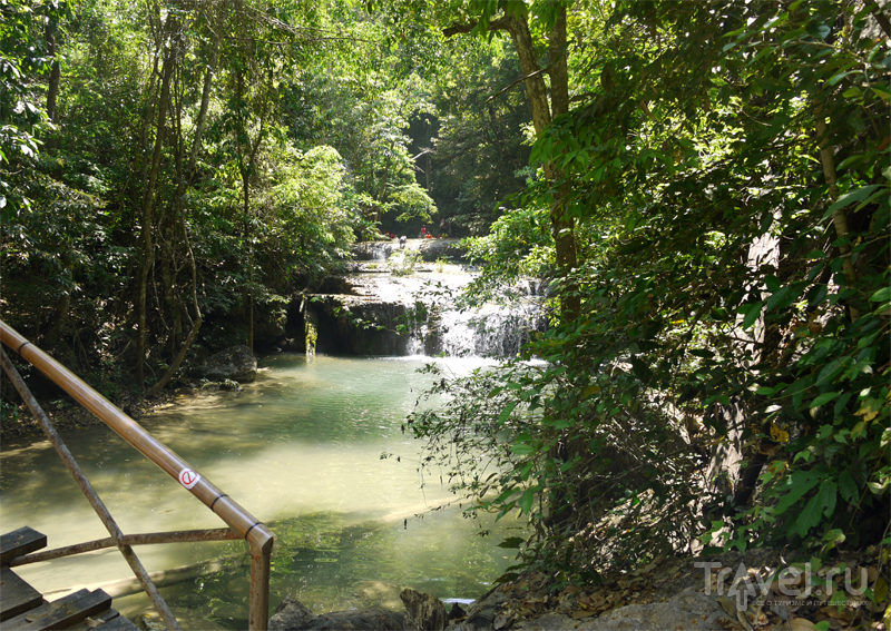 Водопад Эраван в окрестностях курорта Паттайя, Таиланд / Фото из Таиланда