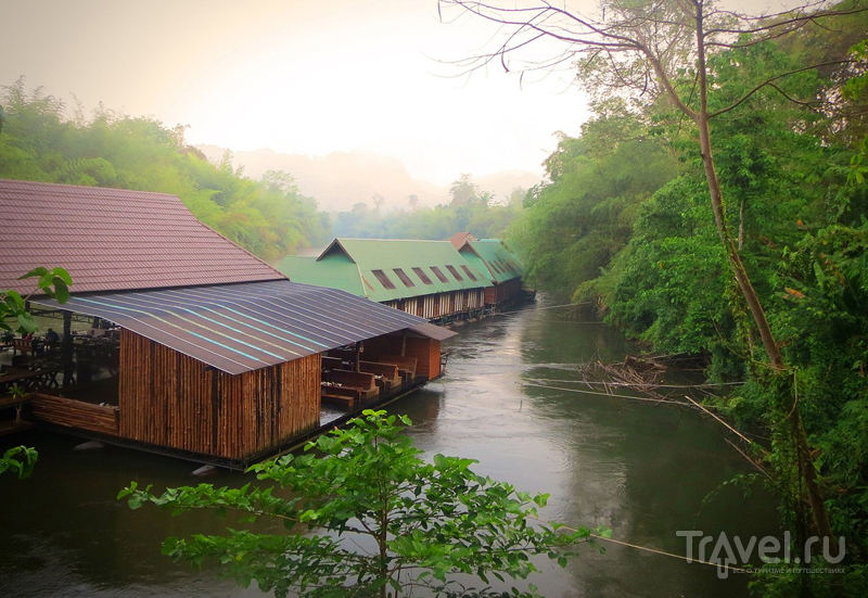 На реке Квай, Таиланд / Фото из Таиланда