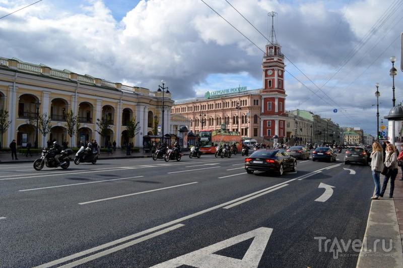 Невский проспект в Санкт-Петербурге, Россия / Фото из России