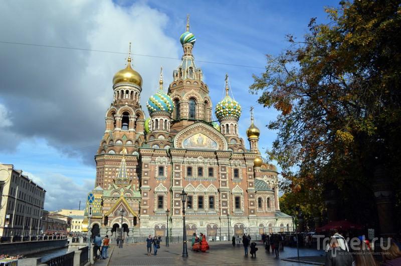 Собор Спаса на Крови в Санкт-Петербурге, Россия / Фото из России