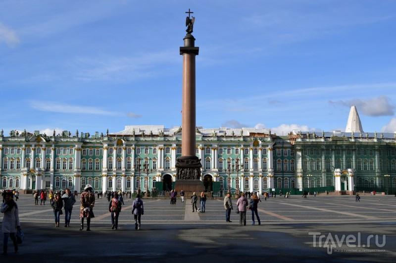 Дворцовая площадь в Санкт-Петербурге, Россия / Фото из России