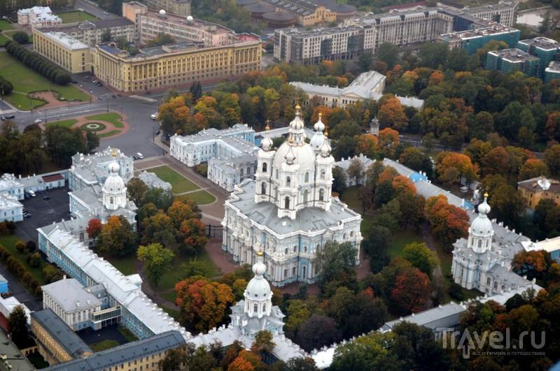 Смольный собор в Санкт-Петербурге, Россия / Фото из России