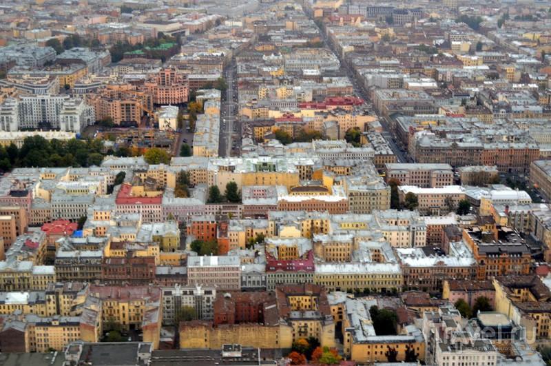 Санкт-Петербург. Солнце и прогулка на вертолете / Фото из России