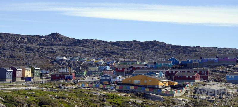 В городе Илулисате, Гренландия / Фото из Гренландии