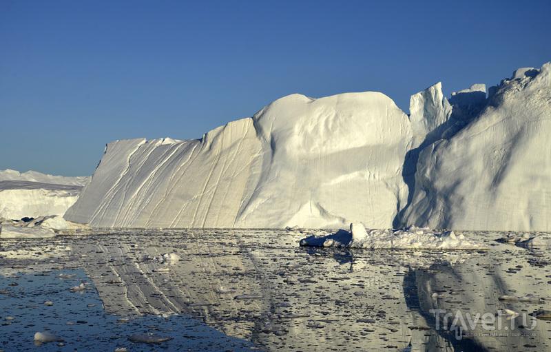 Гренландия - страна среди льдов и торосов / Фото из Гренландии