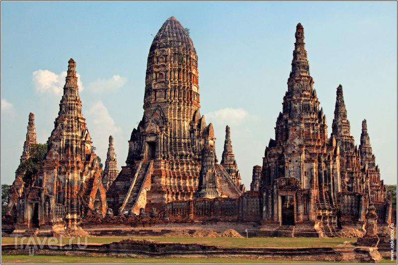 Даже будучи в руинах Аюттая живописна / Фото из Таиланда