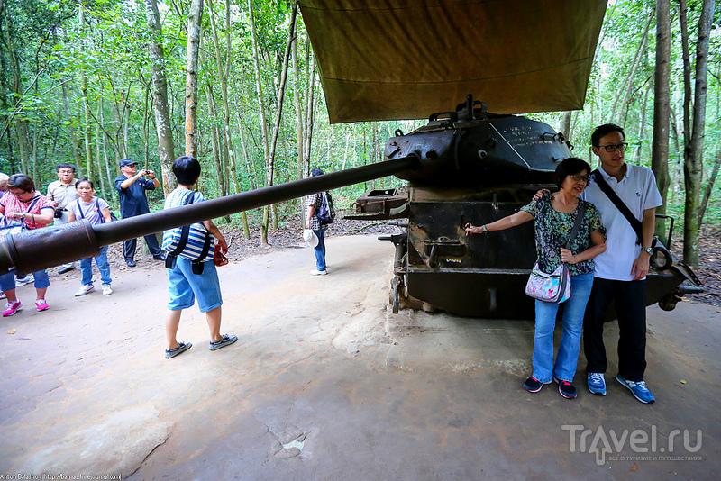 Вьетнамские тоннели Кути / Вьетнам
